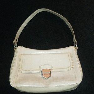 Liz Claiborne Croc Embossed purse vegan leather